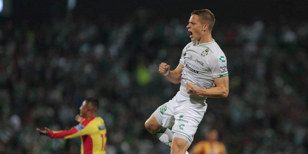 Santos consigue su primer triunfo en el Clausura 2019
