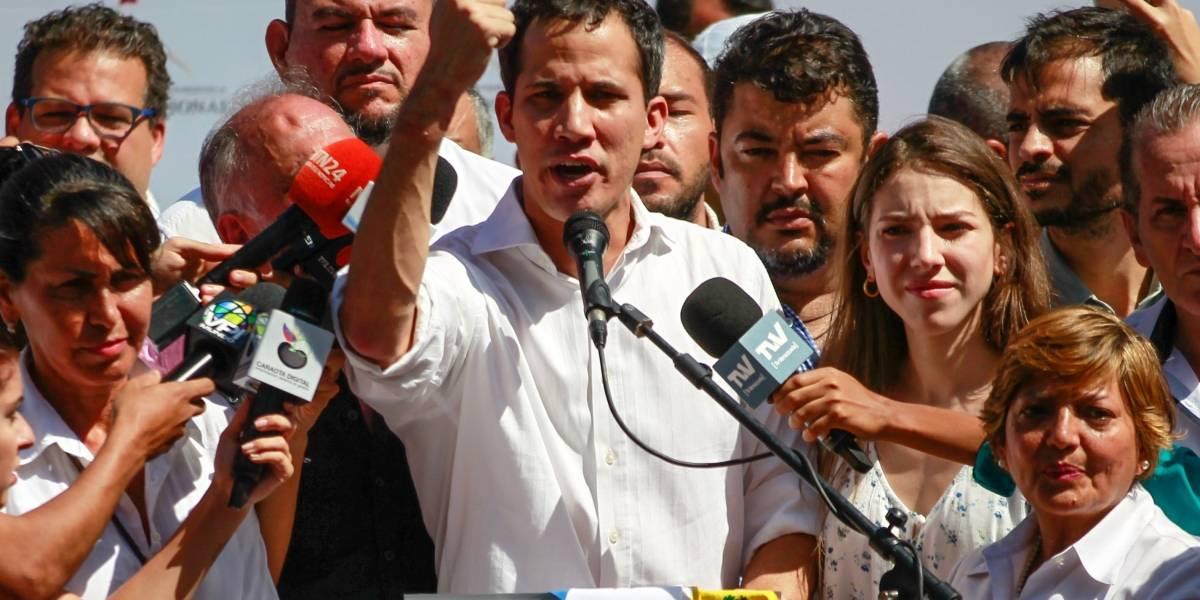 Guaidó exige la liberación del jefe de su despacho detenido la noche del miércoles