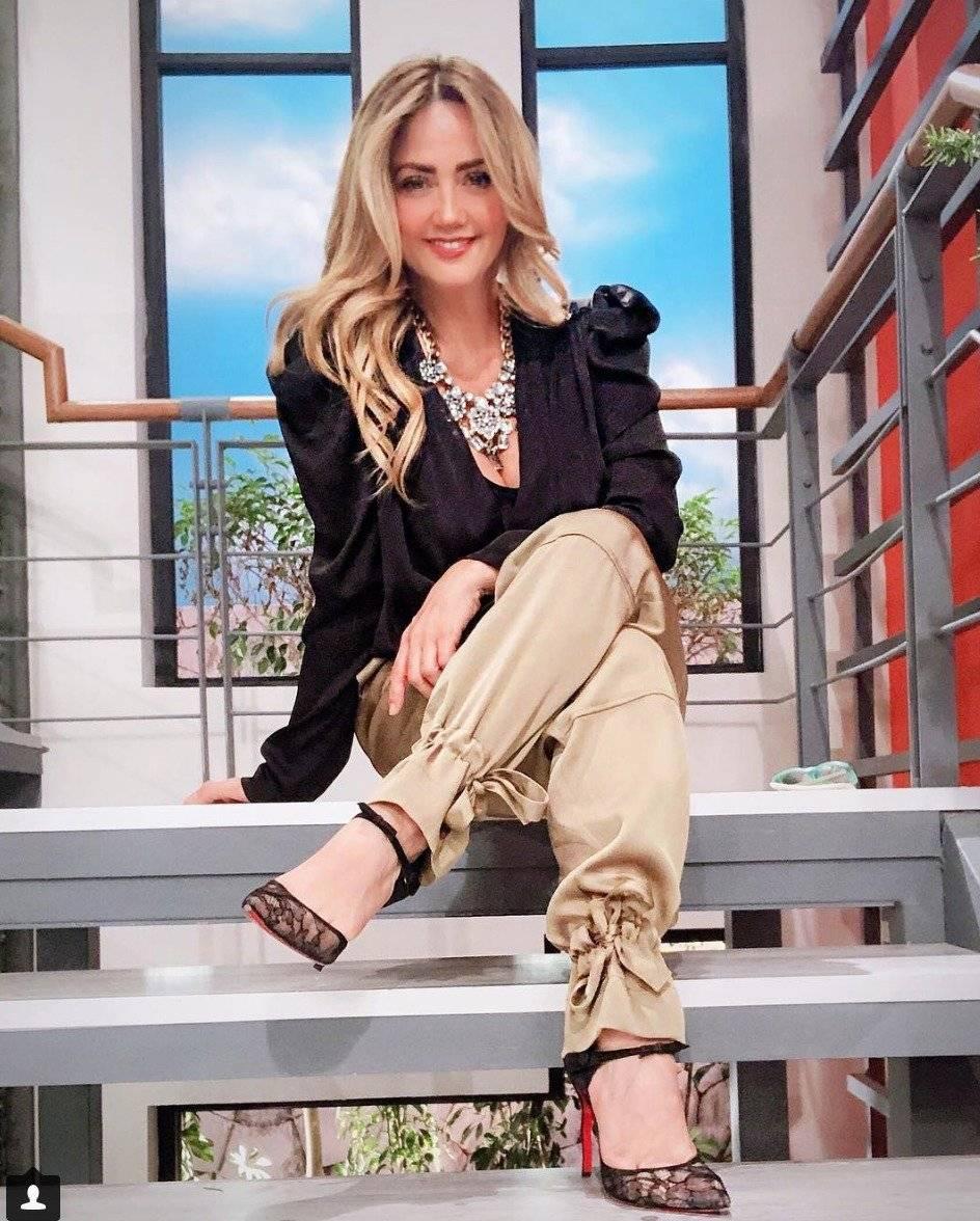 Andrea Legarreta pasó unos días en Los Cabos Instagram