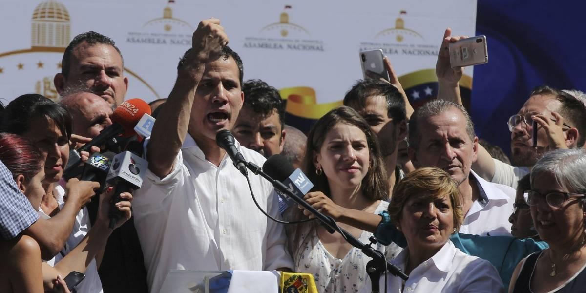 """""""Trataron de ponerme unas esposas y no lo permití"""": Juan Guaidó sobre su detención por parte de servicios de inteligencia de Maduro"""