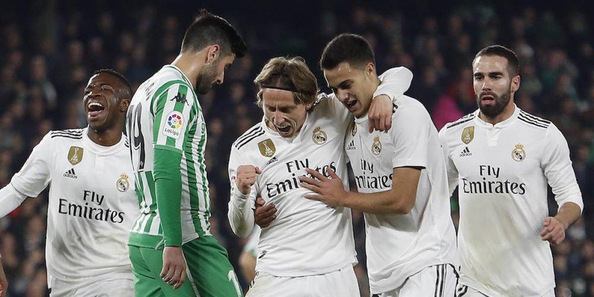 Real Madrid rescata el triunfo sobre el Betis en los minutos finales