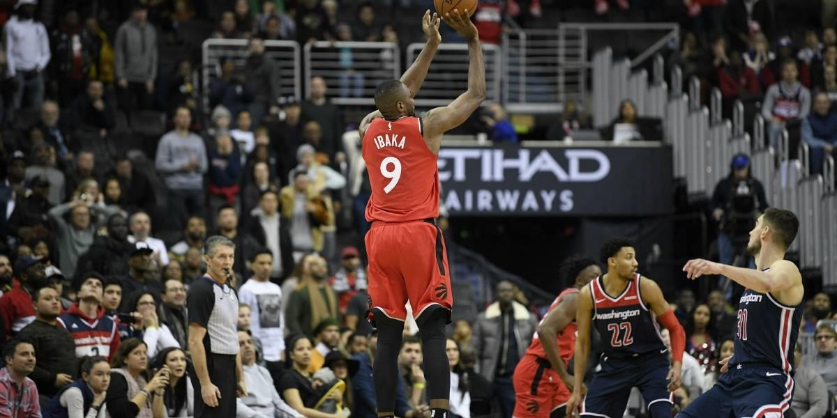 Los Raptors se imponen con triple en los últimos segundos ante los Wizards