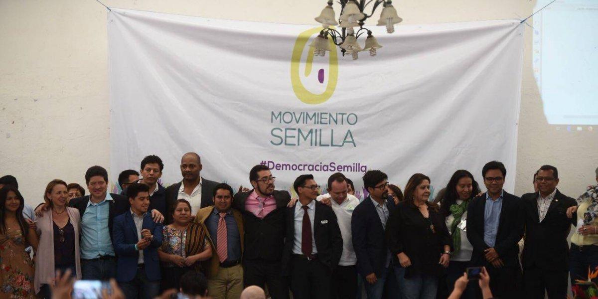 Movimiento Semilla constituye su comité ejecutivo nacional