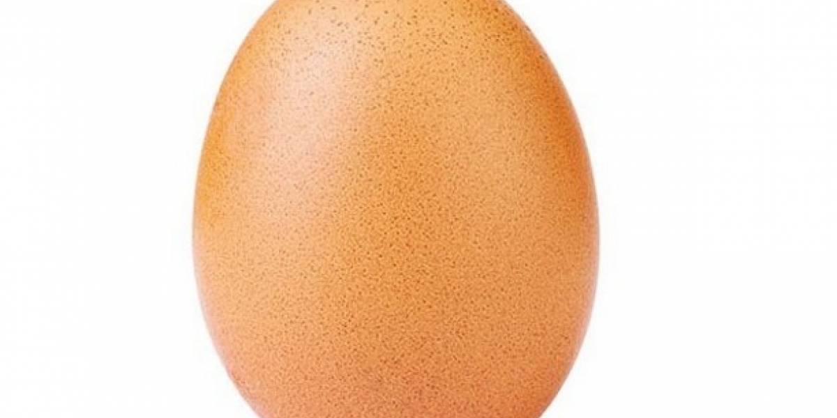 Un huevo obtiene récord a la foto con más likes en Instagram