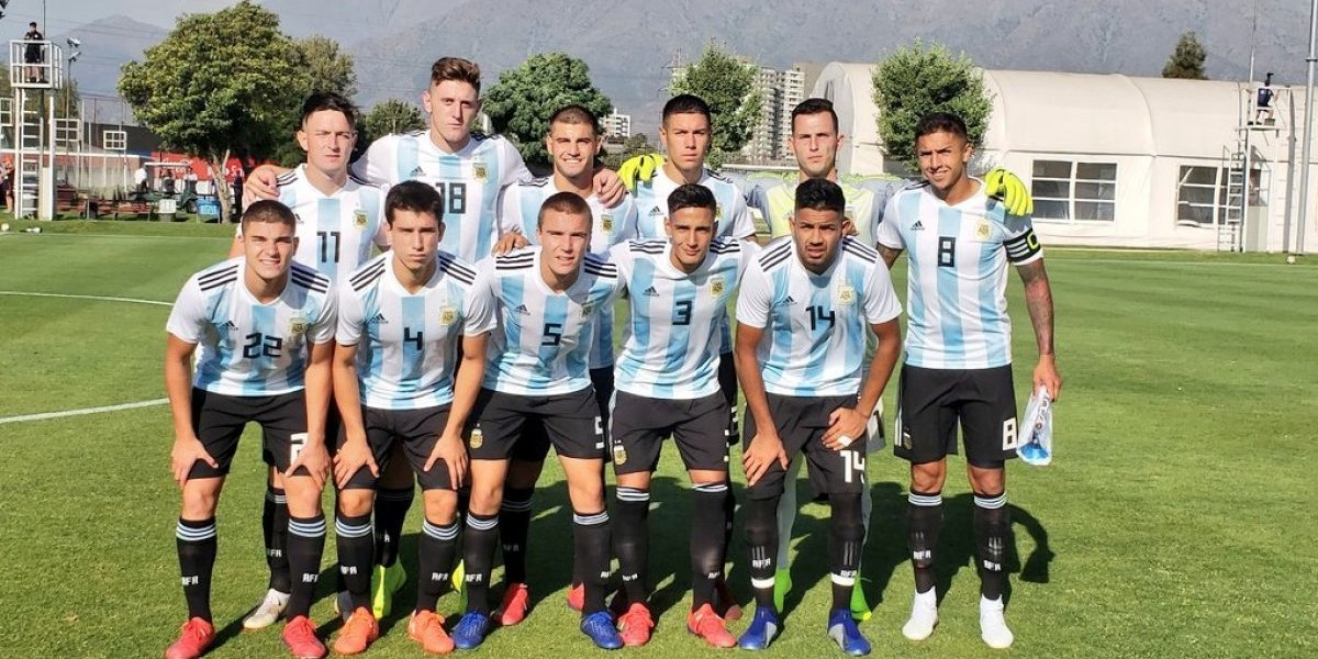 Argentina sufre tras perder una de sus piezas claves a días del inicio del Sudamericano Sub 20