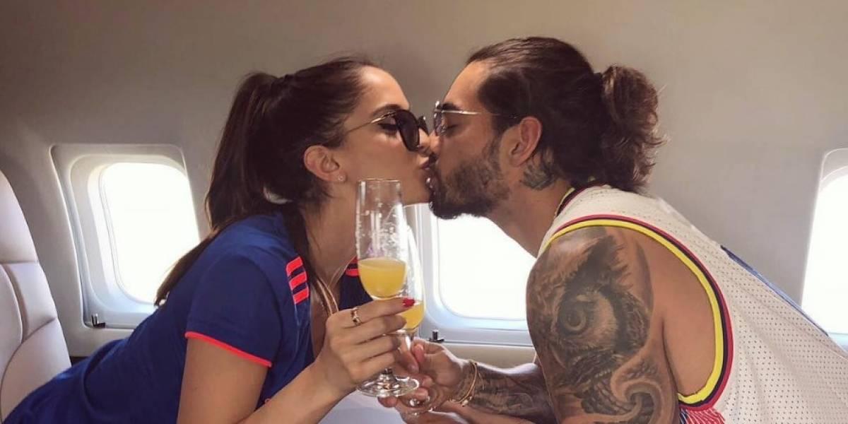 Este fue el tierno mensaje que Maluma le dedicó a su novia para celebrar su cumpleaños