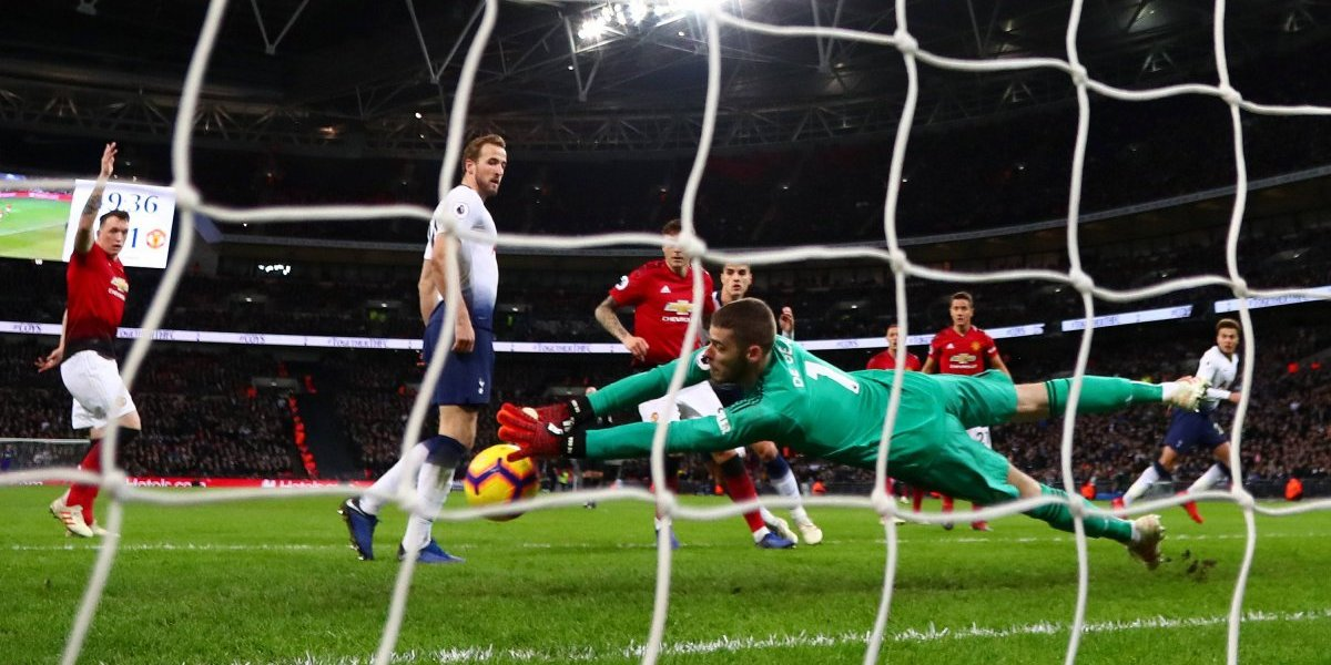 David de Gea destaca en la victoria del Man U sobre el Tottenham