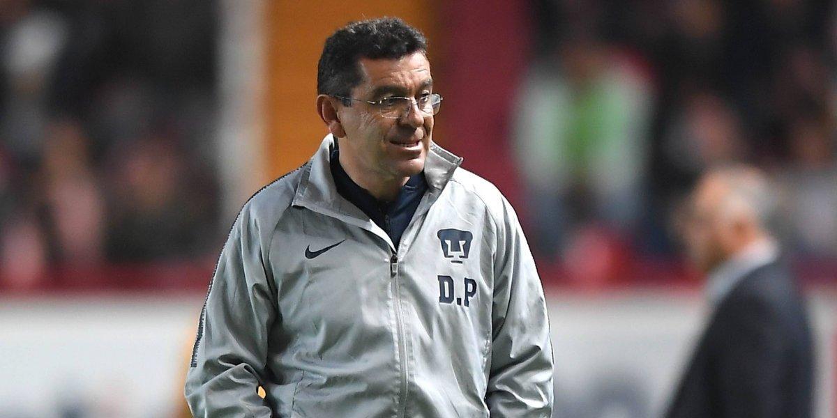 David Patiño firma su peor inicio dirigiendo a Pumas