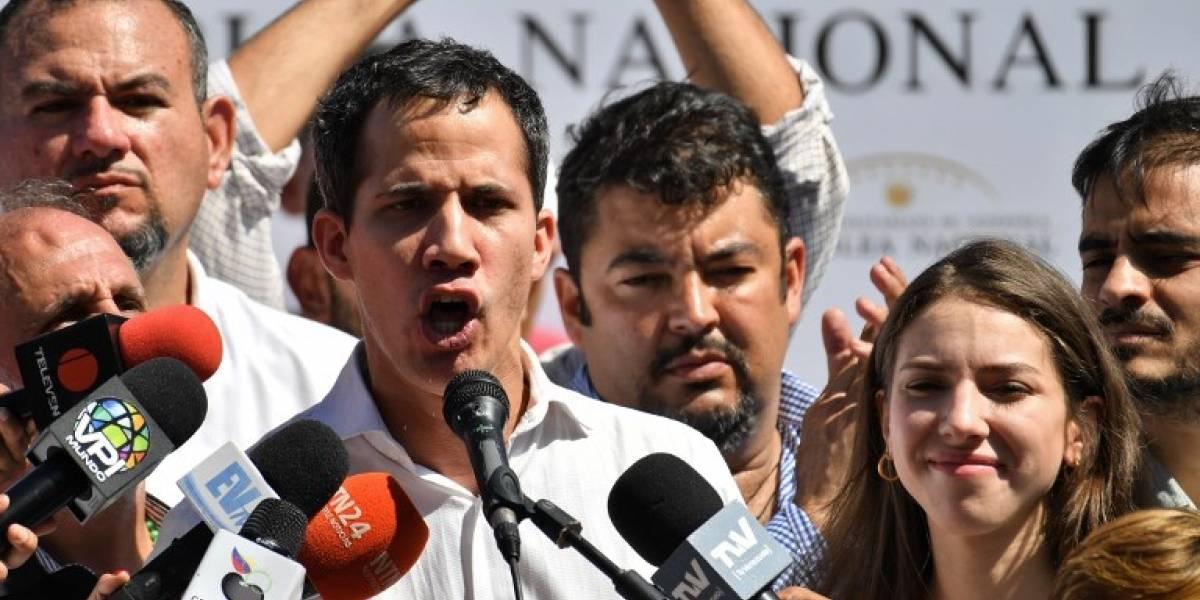 Detienen y luego liberan al presidente del Parlamento de Venezuela