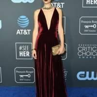 Escotes Critics' Choice Awards 2019