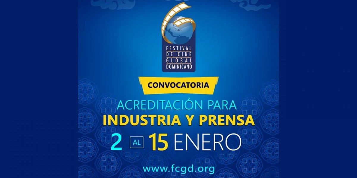 Festival de Cine Global Dominicano finaliza mañana plazo para la acreditación