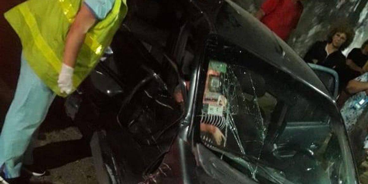 VIDEO: Jugador argentino choca su auto; una mujer embarazada resulta lesionada