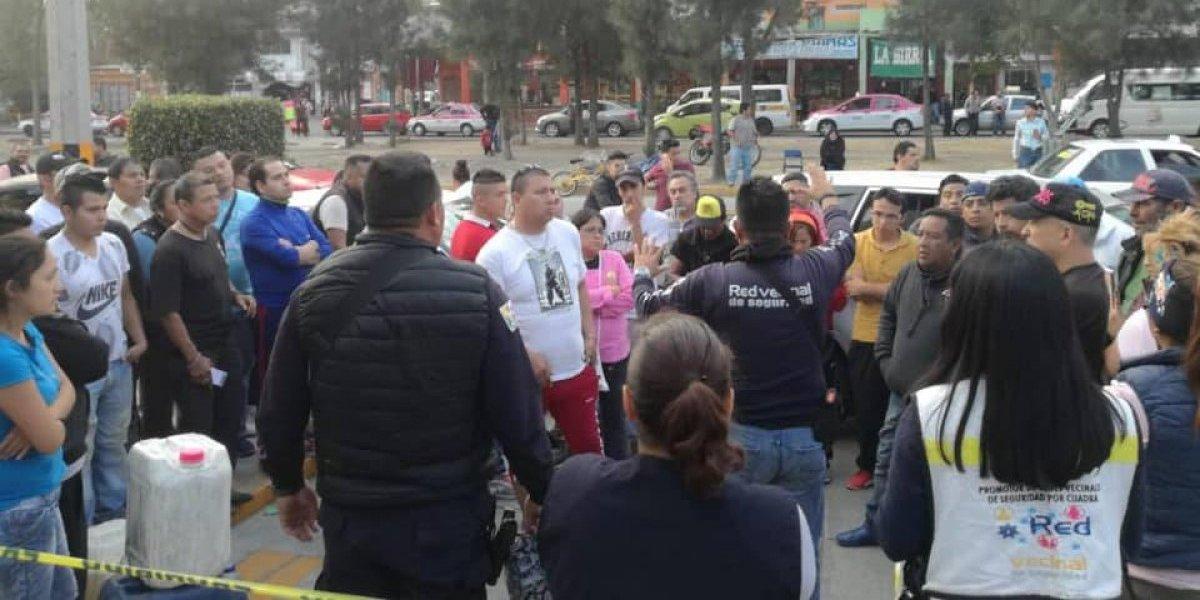 Escasez de gasolina desata balancera en Nezahualcóyotl