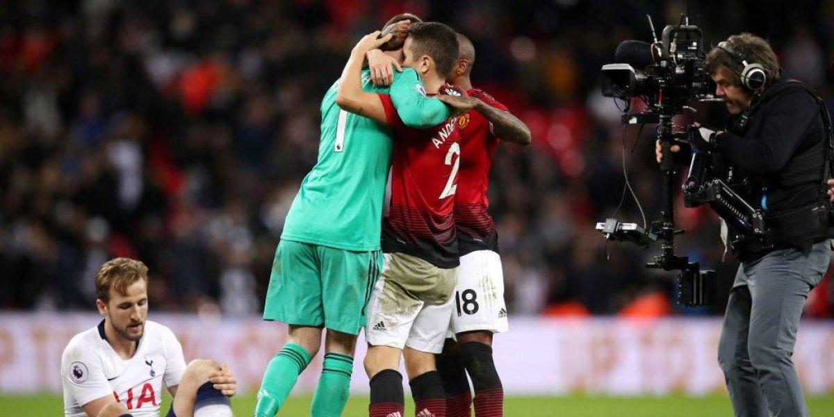 Manchester United vence a Tottenham con una brillante actuación de David De Gea