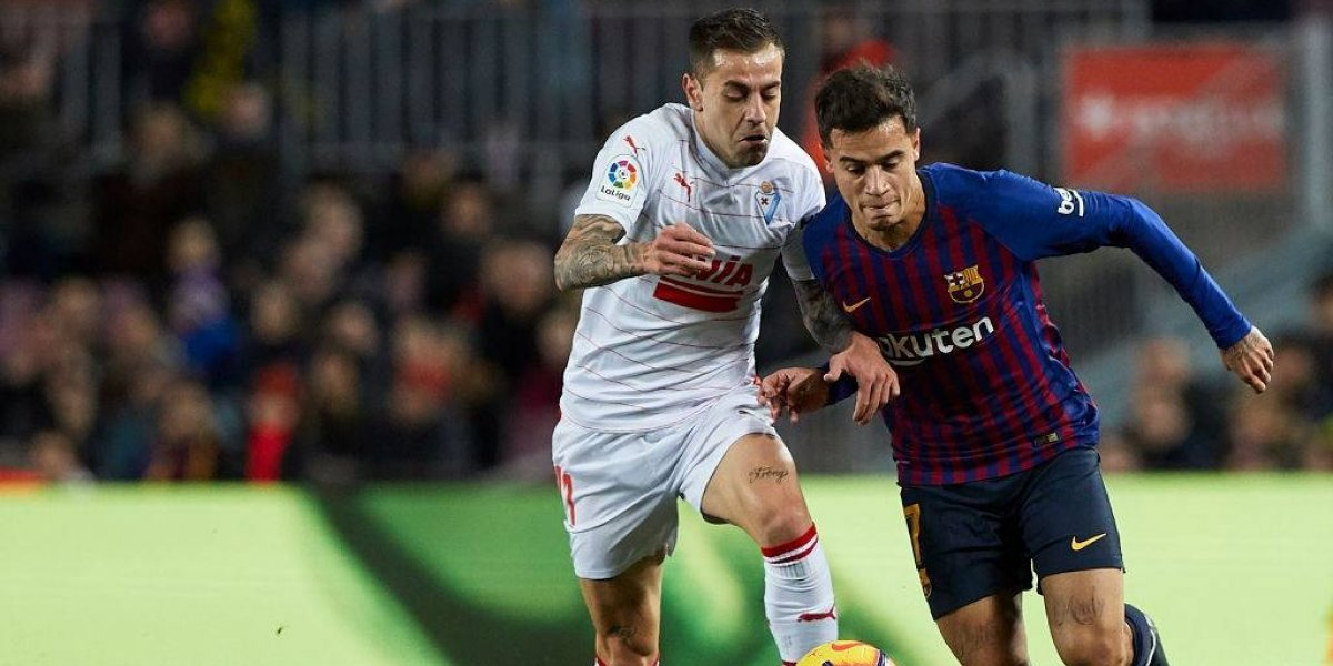 Barcelona termina la primera mitad de la liga con goleada