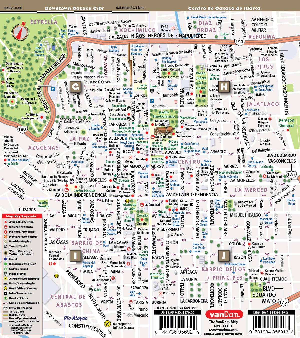 Mapa Oaxaca