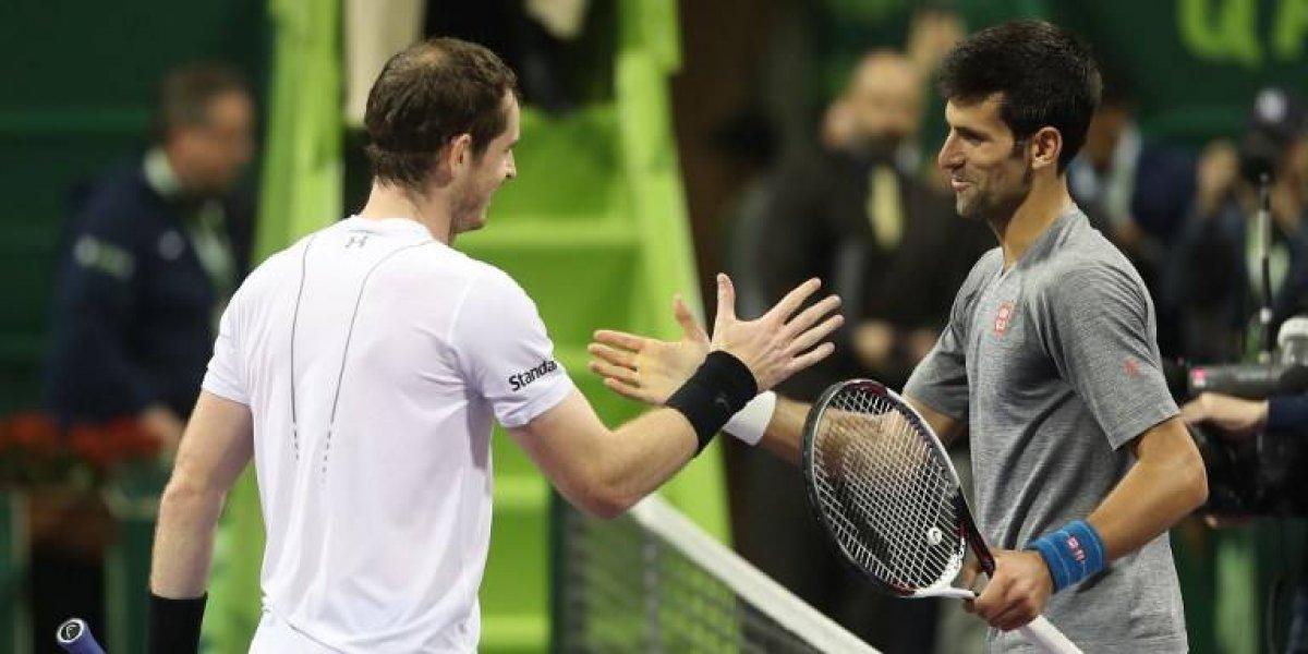 """Djokovic y Federer, """"tristes"""" por el anuncio del retiro de Murray"""