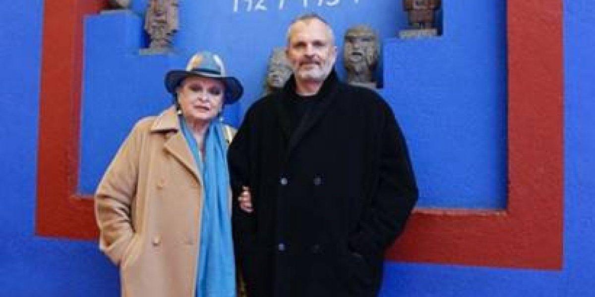 Miguel Bosé queda 'fascinado' por Frida Kahlo