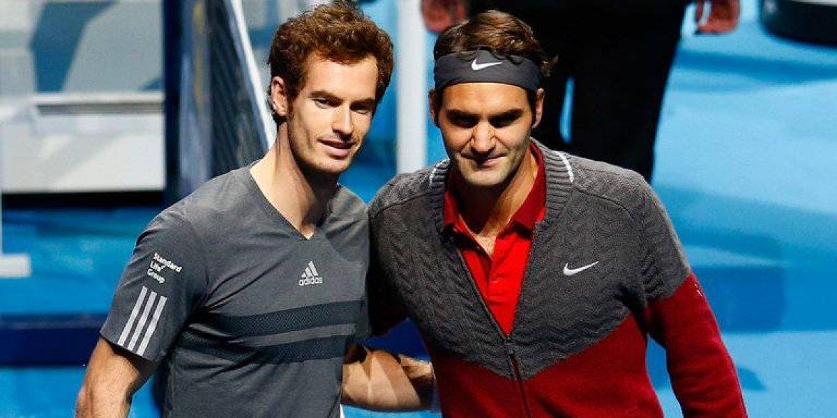 """Roger Federer sobre Andy Murray: """"Me quedé en shock y triste"""""""