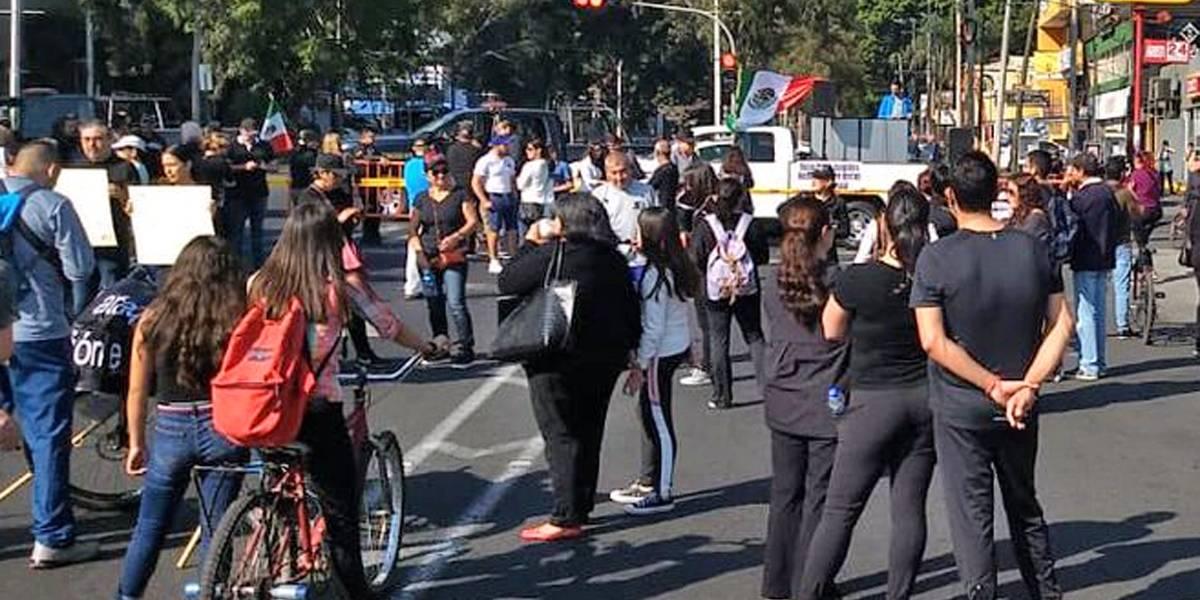 Protestan contra desabasto de combustible en La Minerva
