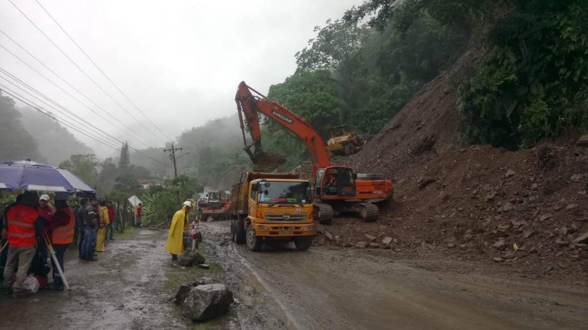 vía Alóag- Santo Domingo