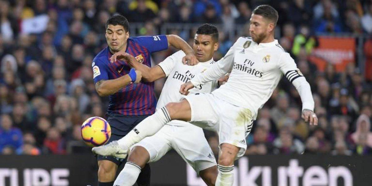 Confirman la fecha y horario del próximo clásico entre Real Madrid y Barcelona