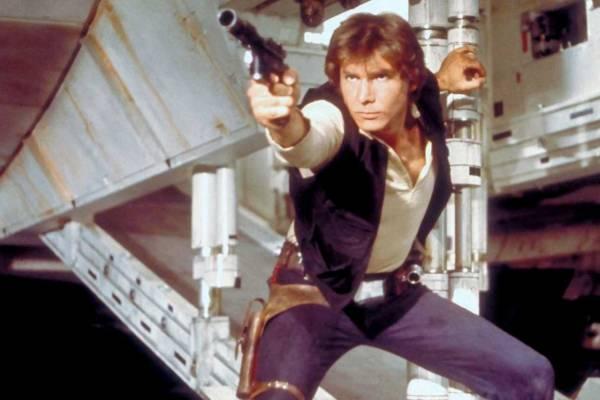 Harrison Ford Han Solo Star Wars Uma Nova Esperança