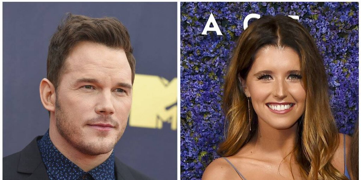 Se comprometen Chris Pratt y Katherine Schwarzenegger