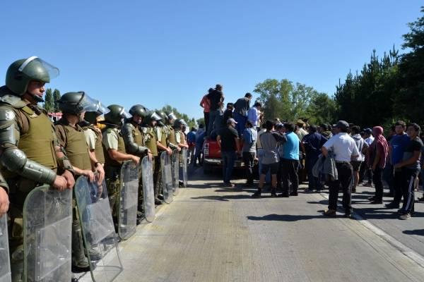 Protestas de pescadores