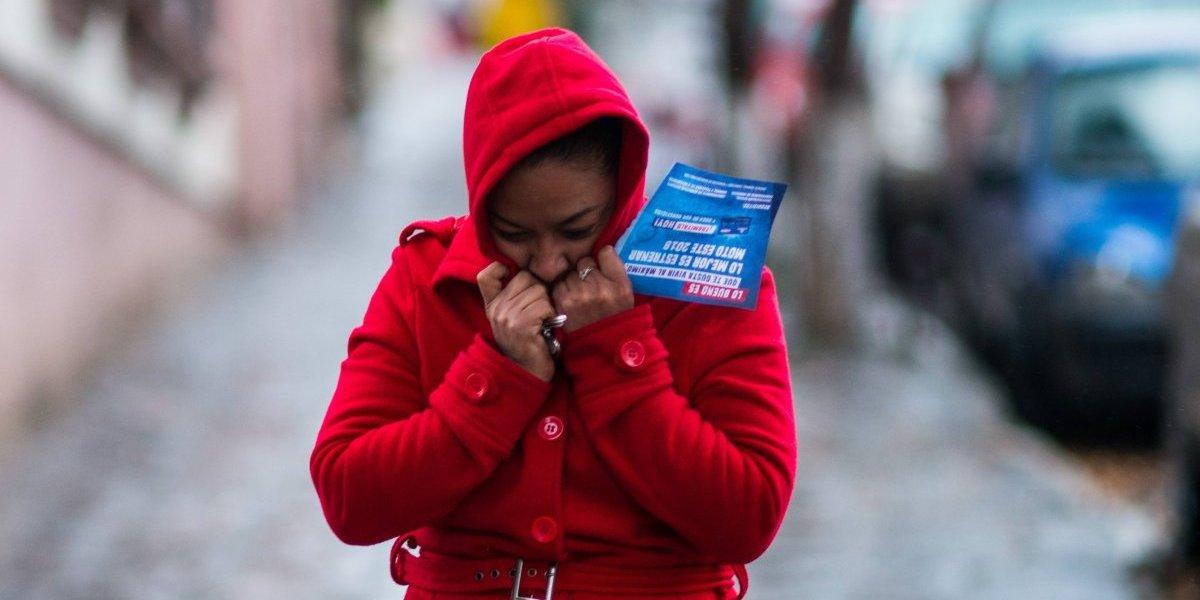 El ingreso de un nuevo frente frío mantendrá ambiente gélido en el país