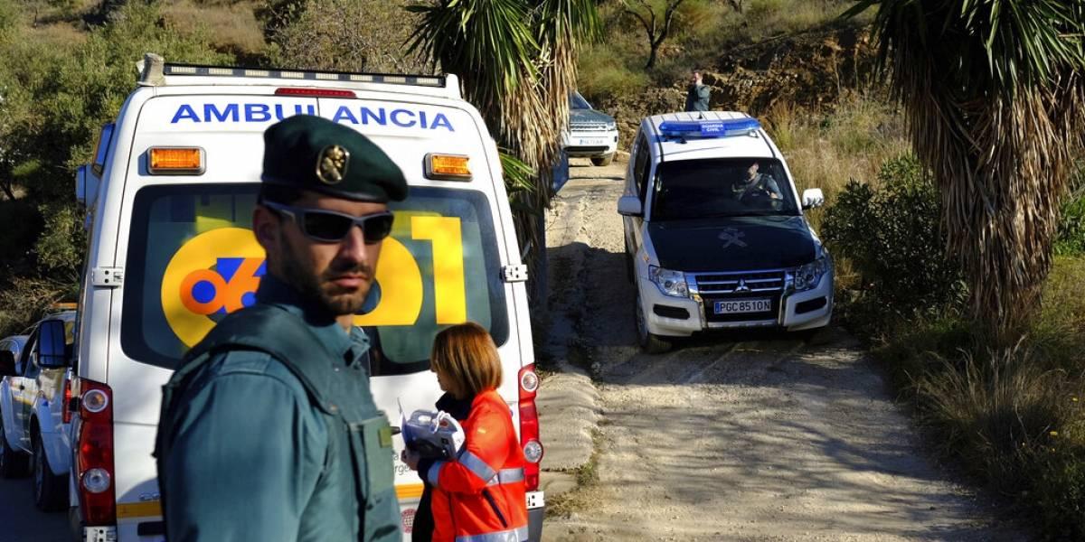 España busca desesperadamente a niño que cayó en un pozo