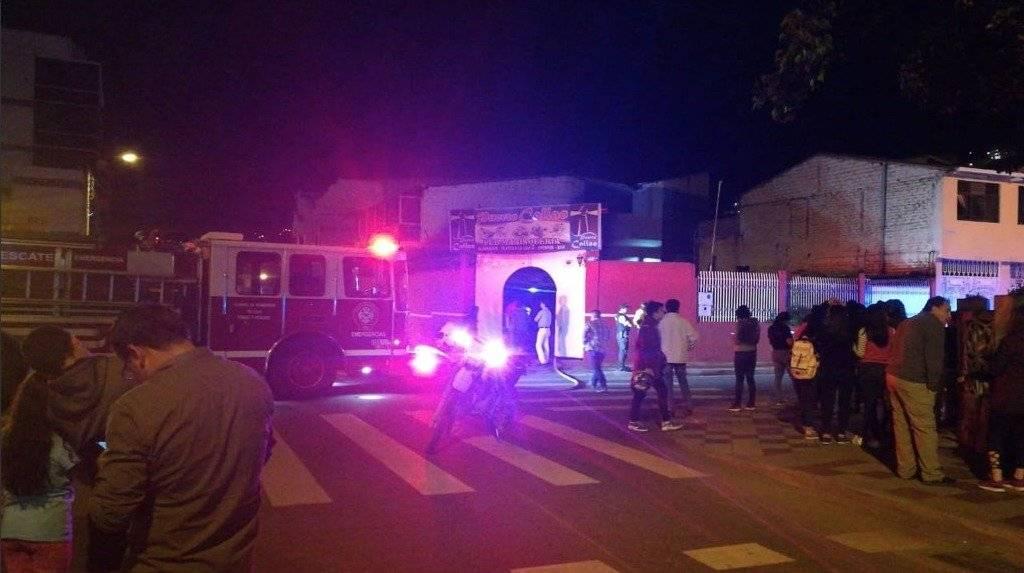 Incendio consumió restaurante en Loja Twitter