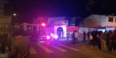 Incendio consumió restaurante en Loja
