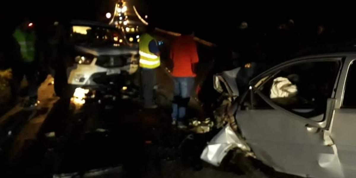 Tragedia carretera en Chiloé: choque frontal deja cinco víctimas fatales en Ancud