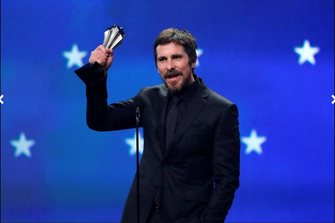 Christian Bale, mejor actor