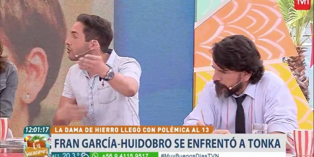 """""""Te invito a reportear"""": La tensa discusión entre Hugo Valencia y Vasco Moulian en el matinal de TVN"""