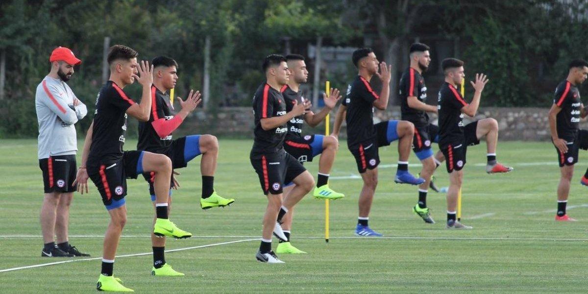 La Roja Sub 20 se instaló en Rancagua pensando en el debut del Sudamericano