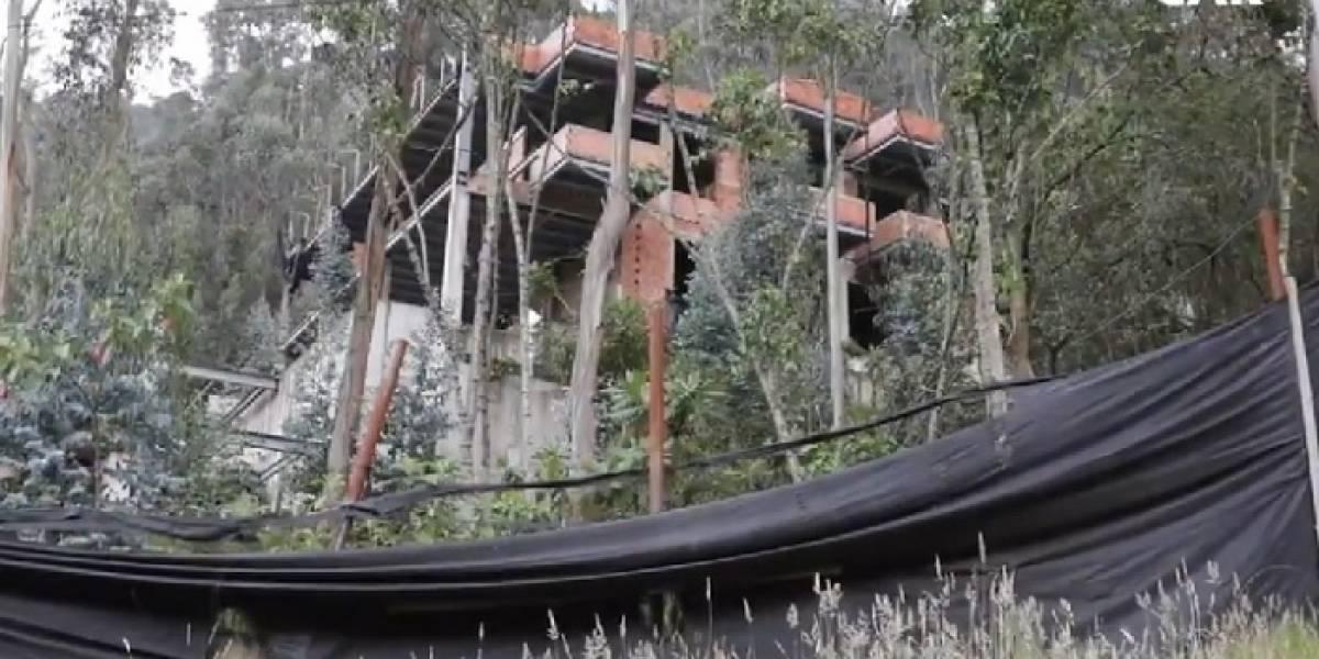 'El Bambú', la megamansión que será demolida hoy en Bogotá