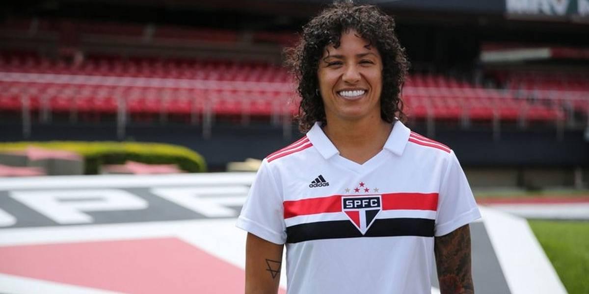 Cristiane é a nova estrela do time feminino do São Paulo