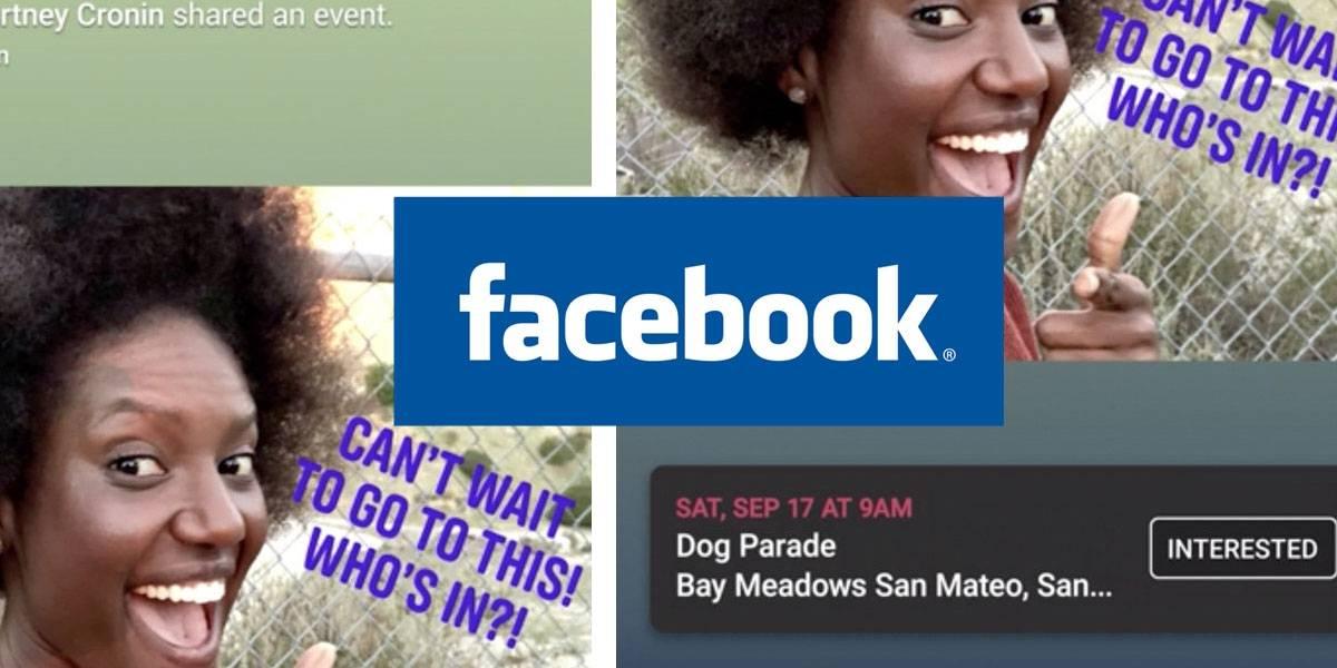 Facebook ya te deja compartir Eventos dentro de la sección de Historias