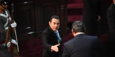 Frases polémicas del presidente, Jimmy Morales