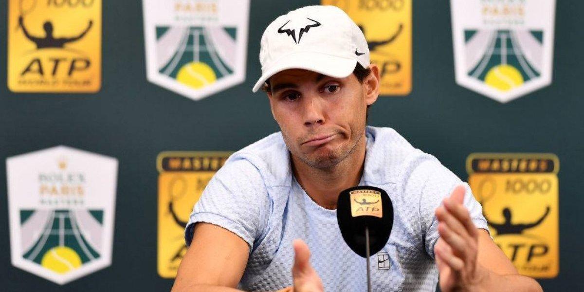 Rafael Nadal se burla de reportero dormido en conferencia