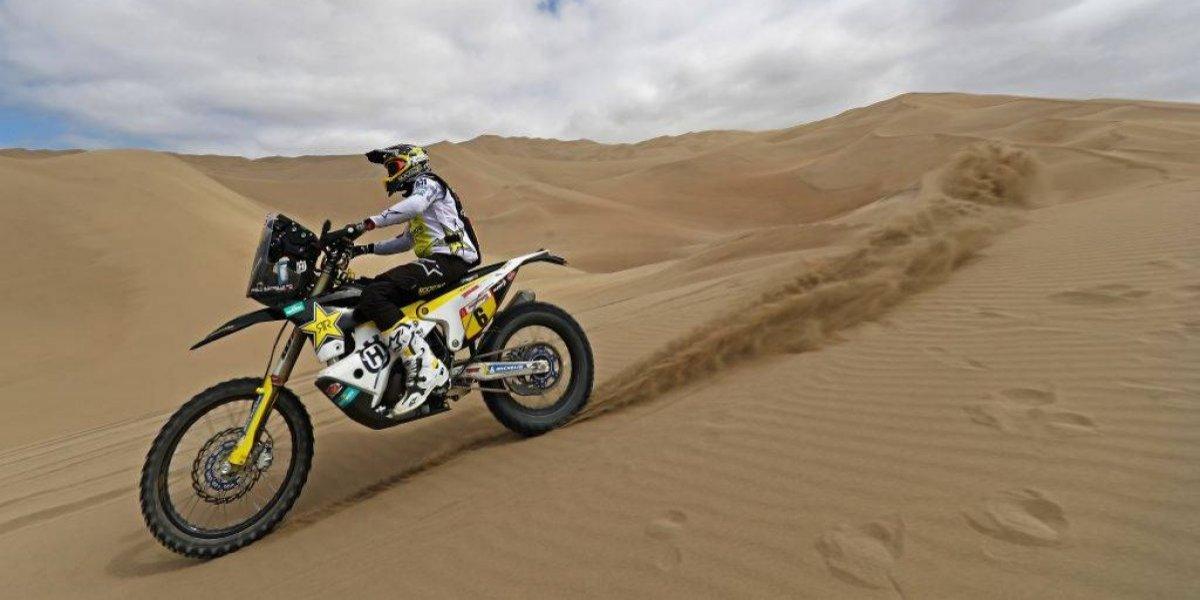 Pablo Quintanilla perdió mucho terreno y salió del podio del Dakar 2019