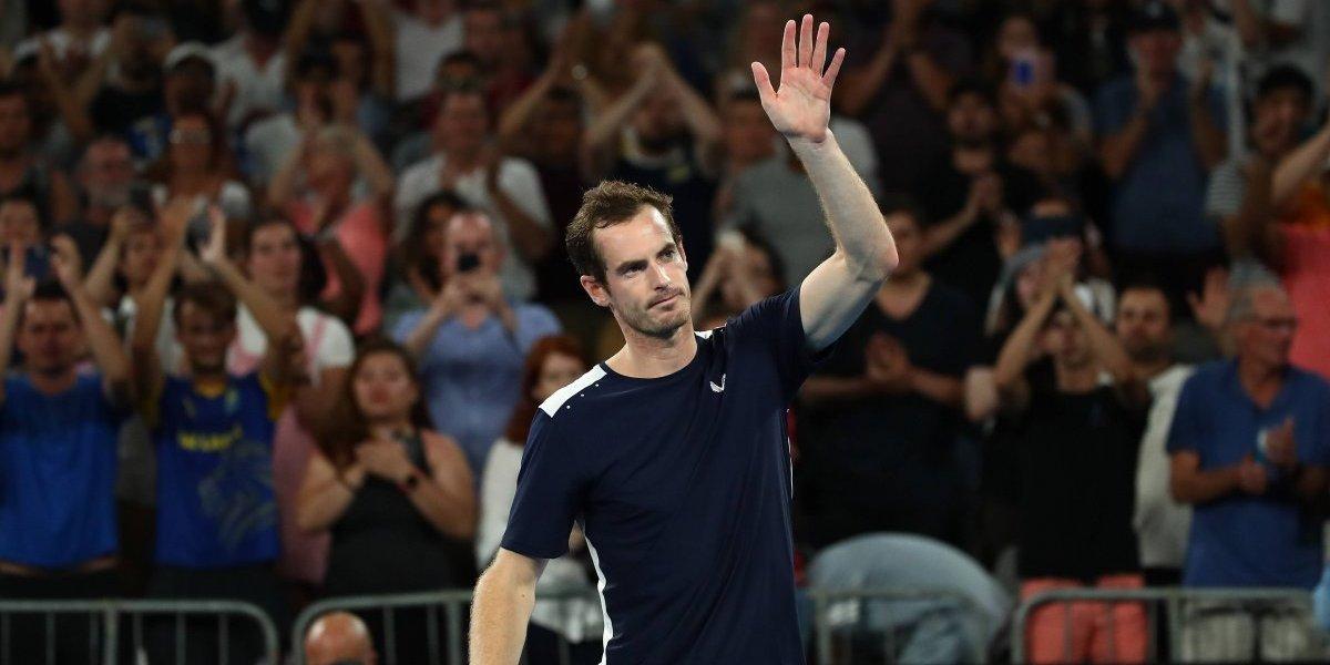 Andy Murray se despidió peleando del Abierto de Australia en el que pudo ser su último partido