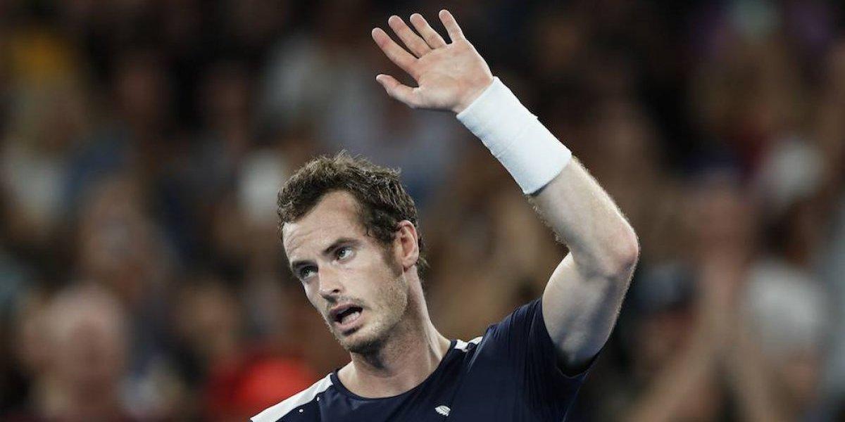 Andy Murray queda eliminado en primera ronda de su último Abierto de Australia