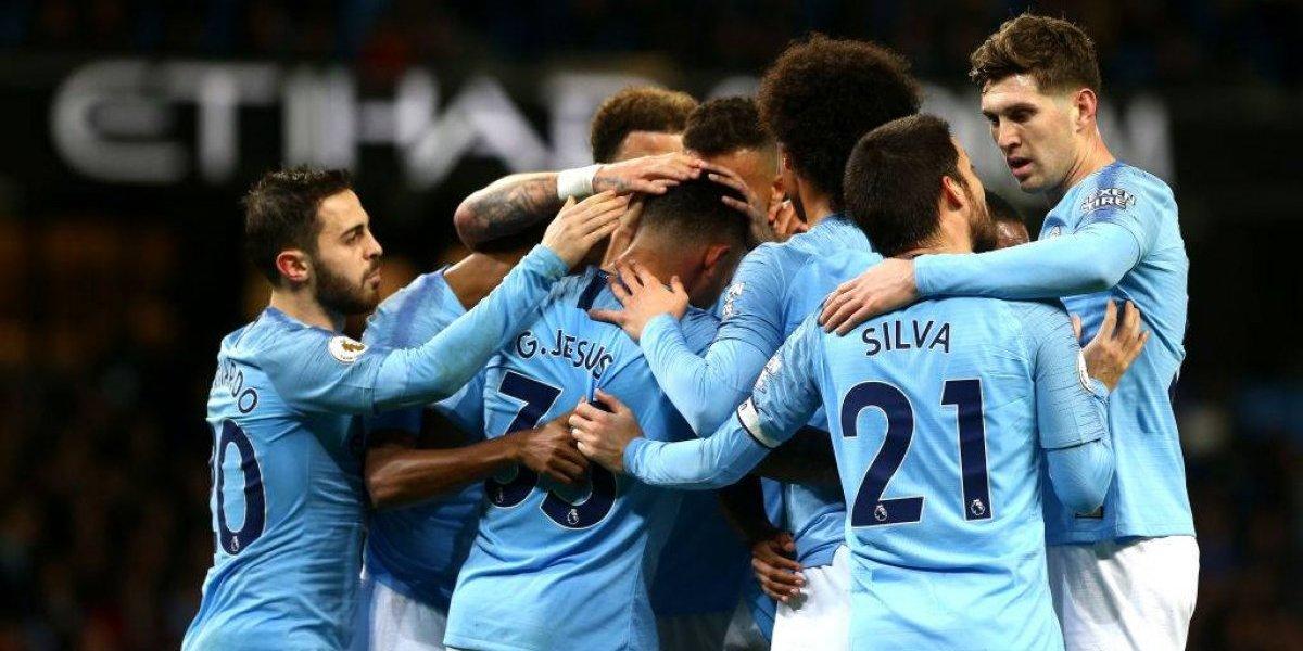 Manchester City goleó a Wolves y le respira en la nuca a Liverpool en la Premier League