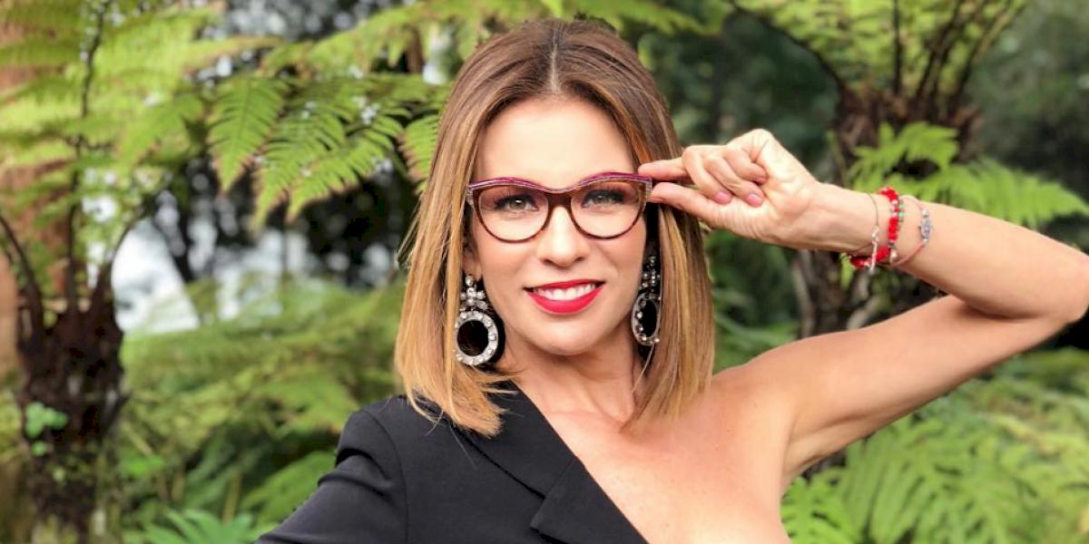 Ingrid Coronado causa polémica al aparece en programa de Televisa