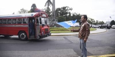manifestación contra Gobierno de Jimmy Morales #NoAlMoralazo