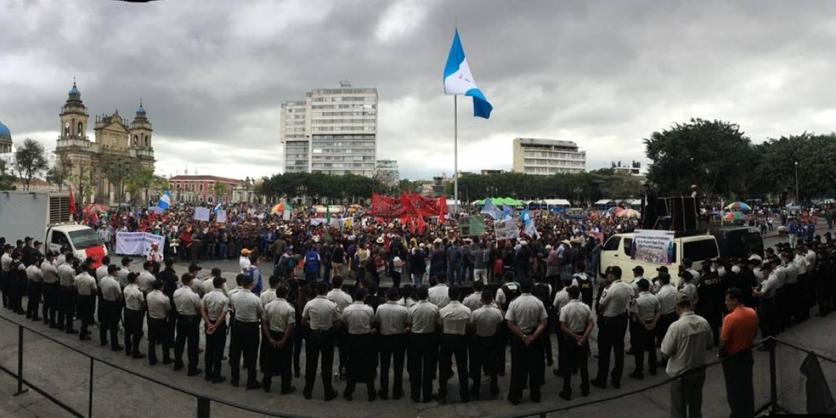 VIDEO. Manifestación contra el Gobierno recorre el Centro Histórico