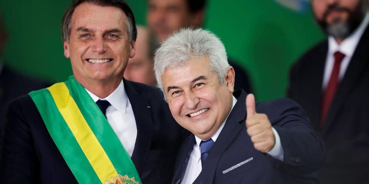Marcos Pontes explica motivo de reunião com Moro